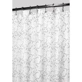 Found it at Wayfair - Prints Polyester Victorian Lace Shower Curtain