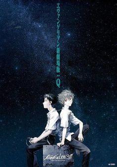 Duo Evangelion shinji & kaworu