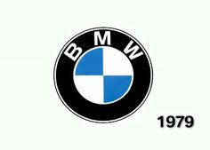BMW logo from 1979. Very similar to today's BMW logo.
