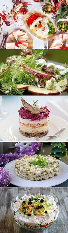 Новогодние салаты с рыбой: вкусная подборка - Что приготовить - Простые рецепты с фото