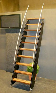 Attic Ladders Types Of Attic Stairs Salter Spiral