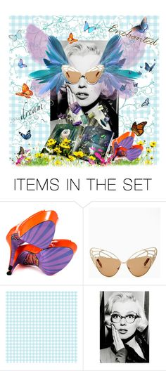 Swirling and Twirling in My Head by kelsjax on Polyvore featuring art - I dream of swirling and twirling and checkerboard sky's. I dream of golden butterfly winged sunglasses, and orange butterfly sole heels. My head starts to spin with twirling and swirling butterflies everywhere. I feel a tickle on my nose as they flew by. Then I felt a SHAKE on my shoulder. My eyes pop open. Only to see it was all a dream. Dreams are Amazing they give you some thing to fight for, to live for, to strive…