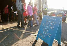 A-Boards - Edinburgh Art Festival