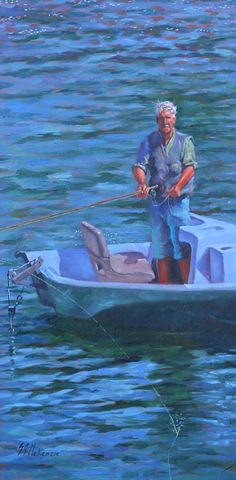 Fly Fishing, River, Painting, Painting Art, Rivers, Fly Tying, Paintings, Painted Canvas