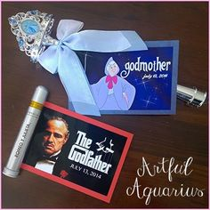 baptism craft godmother godfather