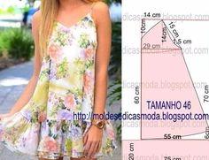 Платье— самая лучшая одежда налето! Легкое ипрохладное платье спасет отлетней жары ипозволит коже дышать. Сегодня вашему вниманию предлагаю простые выкройки платьев налето,которые можно сшить своими руками. Выкройки летних платьев исарафанов.
