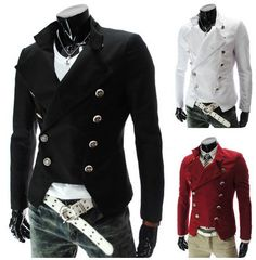 Men's Double Breasted Jackets