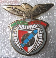 PORTUGAL, BADGES OF FOOTBALL CLUBS - F.C. BENFICA LISBOA PIN  #Pin