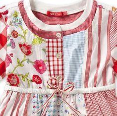 Oilily Djiba Patchwork Dress