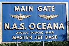 Today's 'shout out' goes to those service men and women and their families stationed at NAS Oceana. Salute!  LOVE this place and Naval Station Norfolk!