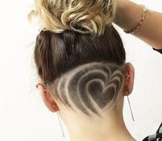 Attractive Chic Undercut Hairstyles Designs to try this Summer - Page 3 of 30 - ShowmyBeauty Shaved Undercut, Undercut Long Hair, Undercut Hairstyles, Shaved Hair, Easy Hairstyles, Summer Hairstyles, Updo Hairstyle, Wedding Hairstyles, Undercut Hair Designs