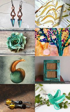 Bamboo Doodles - SOTW Treasury Integrity Team ❤ JewelryByIrina by Kasia Robertson on Etsy--Pinned with TreasuryPin.com