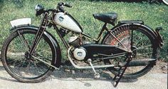 NSU-Quick, 1-cyl 2-stroke 97cc, 1936-1943, 1945-1949