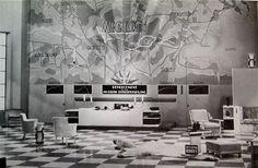 designing dreams: modern architecture in the movies Casa Art Deco, Art Deco Home, Architecture Details, Interior Architecture, Vintage Interiors, Deco Interiors, Art Deco Design, Set Design, Fritz Lang