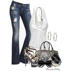 Jeans & Stilettos