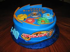 Children's Birthday Cakes - Beyblade birthday cake