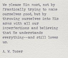 through it all… He still loves us