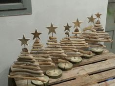 Christbaum aus Treibholz