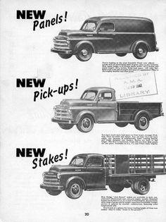 48 dodge ad Dodge Pickup Trucks, Vintage Pickup Trucks, Old Trucks, Panel Truck, Car Advertising, Car Travel, Dodge Challenger, Old Cars, Mopar