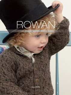 Folk influences were to be found for both adult and child's wear this season and Rowan Studio 30 offers a capsule wardrobe of knits for every little fashionista! From a cosy 'grandad' cardigan for boys to a pretty cape for girls. Hopefully this collection will have everyone wishing they were young again.