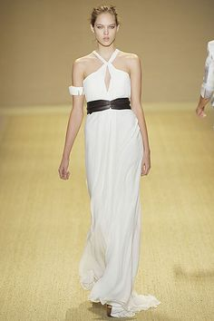 Monique Lhuillier Spring 2009 Ready-to-Wear