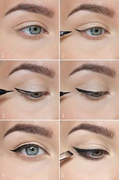 How to perfect winged eyeliner? Easy tips for winged eyeliner look! The most easiest way to do winged eyeliner. Source by Artekate The post How to perfect winged eyeliner? Easy tips for winged eyeliner look! appeared first on Best Of Likes Share. Winged Eyeliner Tricks, Perfect Winged Eyeliner, Eyeliner For Beginners, Eyeliner Looks, Makeup Tips For Beginners, How To Apply Eyeliner, Winged Liner, How To Eyeliner, Eyeliner Liquid