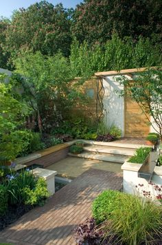 Gardenstory small gardens on pinterest small gardens for Beautiful small gardens