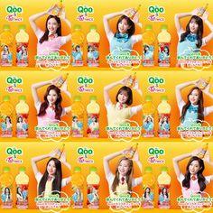Twice x Qoo 🍊🍎 Twice Mv, Twice Once, South Korean Girls, Korean Girl Groups, Twice Group, Twice Korean, Chaeyoung Twice, Arabic Jokes, Twice Sana