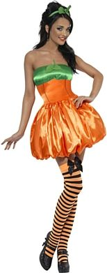 Fever Pumpkin Halloween Costume http://www.partypacks.co.uk/fever-pumpkin-costume-pid83646.html