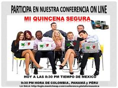 HORARIO DE LAS CONFERENCIAS MUNDIALES VIA INTERNET