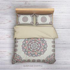 Boho Bedding Set on Sale. Bohemian Bedding,Boho Bedding,Bohemian #duvet Cover,Mandala Duvet Cover,Mandala Bedding,Hippie Bedding,Boho Duvet cover