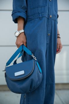 Introducing the Marc by Marc Jacobs New Q Natasha, seen here in Deep Blue.