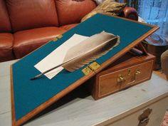 portable writing desk plans
