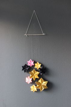origami dekoration and weihnachten on pinterest. Black Bedroom Furniture Sets. Home Design Ideas