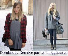 Sur le #blog aujourd'hui, on parle des #bloggueuses #Chloé et #Clémentine ! En effet, elle porte le #collier #chaine noir Dominique Denaive. Avec leur #style, elles ont su le mettre en avant en toute simplicité ! Merci les filles.