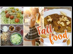 Fit Fall Foods! Pumpkin French Toast, Zoodles & Fall Harvest Salad! - YouTube