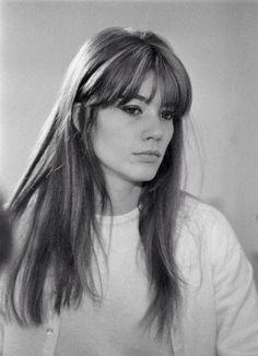 Francoise Hardy - her hair! :)