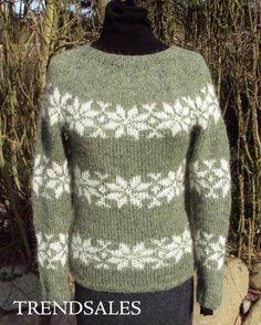 FruStrik - Sweater, trøje, bluse, Sarah Lund, Sara Lund, strik, islandsk uld, Fru Strik