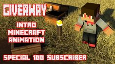 PENGUMUMAN GIVEAWAY INTRO MINECRAFT ANIMATION - SPESIAL 100 SUBSCRIBER