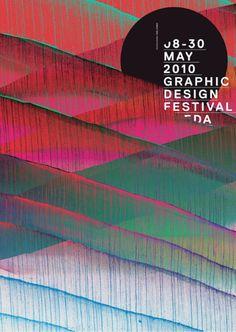 Graphic design festival Poster design