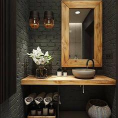 Washroom Design, Bathroom Interior Design, Small Bathroom, Master Bathroom, Ideas Baños, Room Ideas, Best Bathroom Designs, Bathroom Styling, Bathroom Renovations
