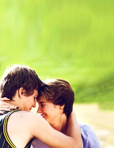 Hazel and Augustus  l  The Fault in Our Stars