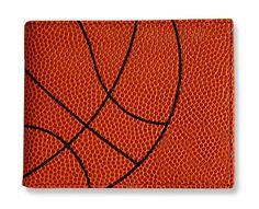 Basketball Men's Wallet - Basketball Material - Sports - Wallets for Men - Billfold - Men's Wallets - Basketball -  Wallet - Billfold - Gift Ideas for Guys