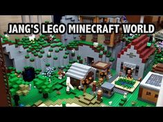 YouTube Lego Minecraft, Minecraft Crafts, Lego Videos, Crafts For Boys, Custom Lego, Poker Table, World, Birthday, Kids