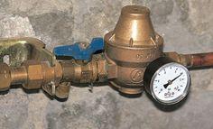 1000 images about plomberie sanitaires on pinterest bricolage videos and d - Comment regler un reducteur de pression d eau ...