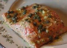 The Food Gospel According to Ruth: Caper-Garlic Roasted Salmon