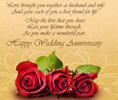 Anniversary Wishes for Facebook | happy anniversary quotes - WishesPoint