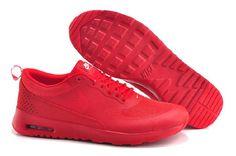 new arrival 97dd7 fc4f4 Nike Air Max Thea Print Shoes All Red Men Women Air Max Thea Women -