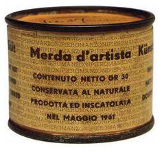 Piero Manzoni - Merda d'artista (1961)