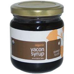 Navitas Naturals, Organic Yacon Syrup, 8.8 oz (249 g) - iHerb.com. Bruk gjerne rabattkoden min (CEC956) hvis du vil handle på iHerb for første gang. Da får du $5 i rabatt på din første ordre (eller $10 om du handler for over $40), og jeg blir kjempeglad, siden jeg får poeng som jeg kan handle for på iHerb. :-)